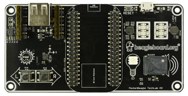 Pocketbeagle Techlab