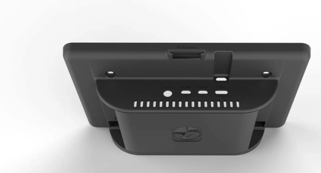 A product image for Raspberry Pi 4 Touchscreen Case – Black