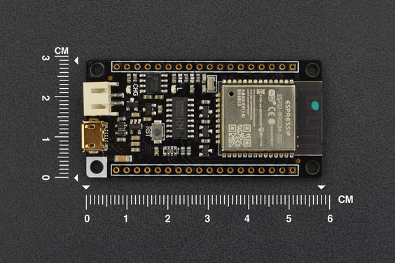 A product image for FireBeetle ESP32 IOT Microcontroller (Supports Wi-Fi & Bluetooth)