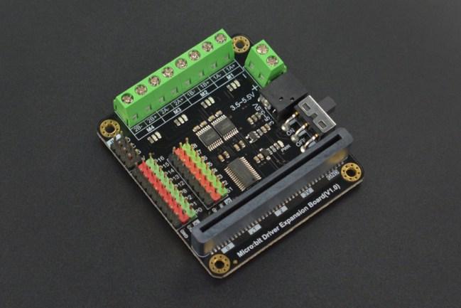 A product image for DF-Robotertreiber-Erweiterungsplatine für Micro: Bit