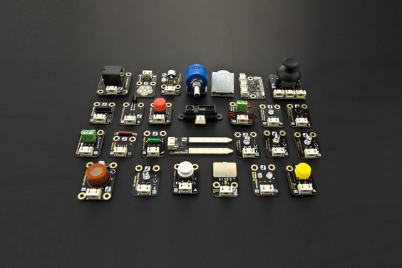 A product image for Gravity: 27 Piece Sensor Kit for Arduino