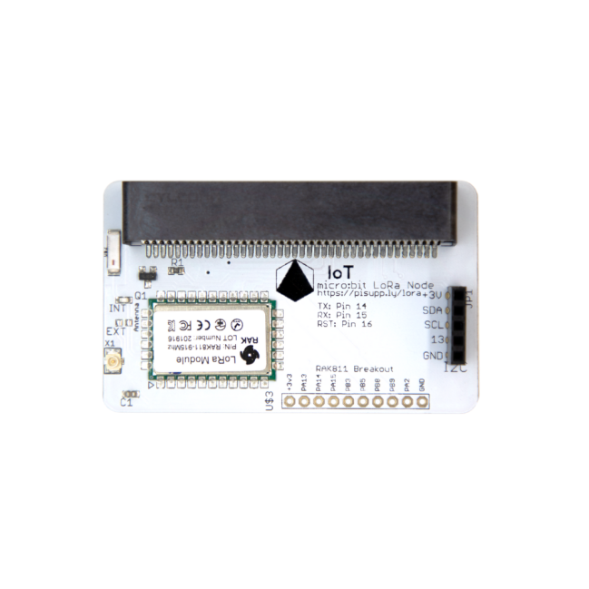 A product image for PI Supply IoT micro:bit LoRa Knoten (Mehrfachfrequenz)