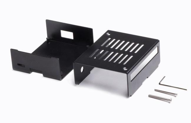 A product image for KKSB Raspberry Pi Metal Case Model A+ (Black)