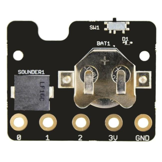A product image for Kitronik MI:power board for the BBC micro:bit