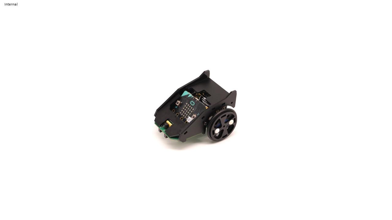 BitCar - Autonomous Line Following & Obstacle Avoiding Car for micro:bit