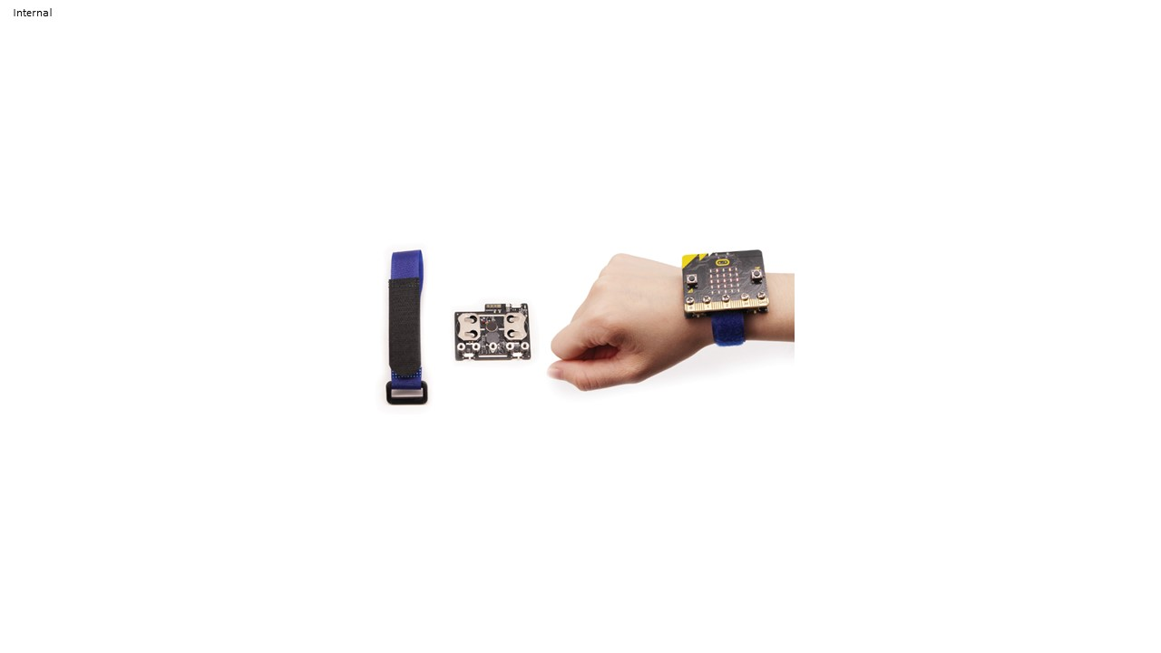 BitWearable Kit - smartwatch with strap for micro:bit
