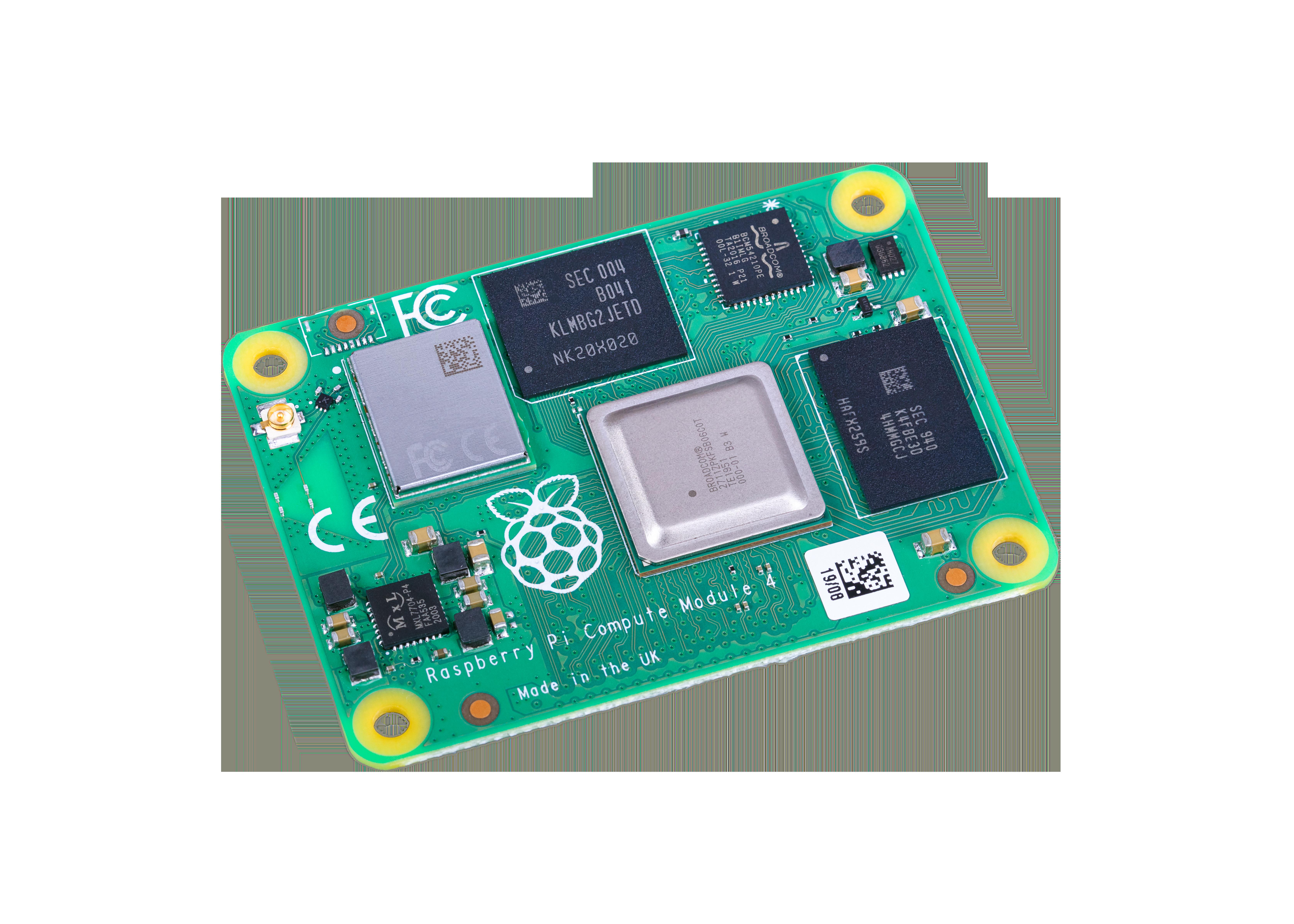 Raspberry Pi Compute Module 4 with WiFi 1GB RAM 8GB Flash