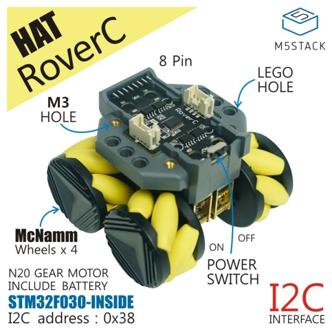 A product image for RoverC (W/O M5StickC)