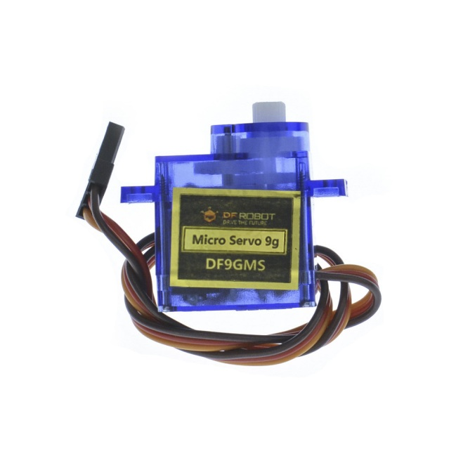 A product image for 9g 180° Micro Servo (1.6kg)