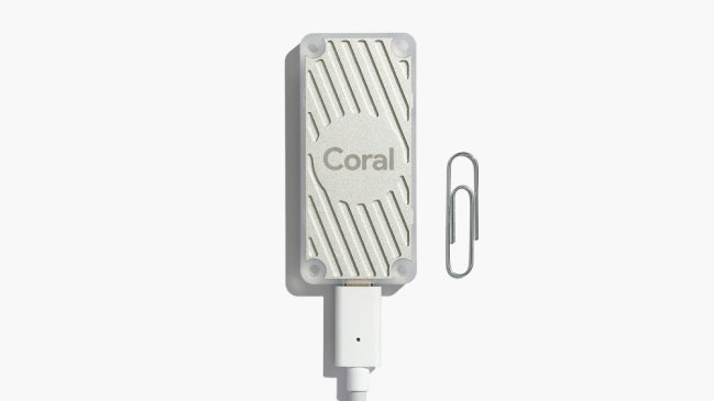 A product image for Coral USB Accelerator