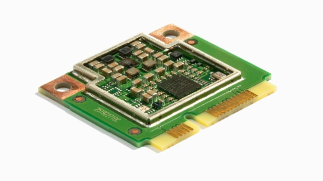 A product image for Coral Mini PCIe Accelerator