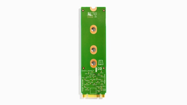 A product image for Coral Mini PCIe M.2 Accelerator B/M Key