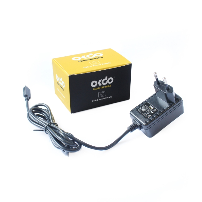 A product image for OKdo Fixed Head PSU – European Plug