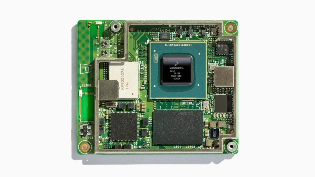 A product image for Coral 1GB System on Module (SoM)