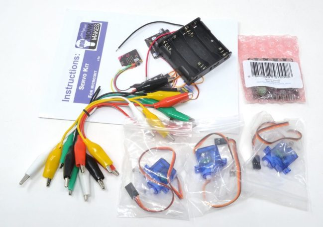 A product image for Servo kit for micro:bit