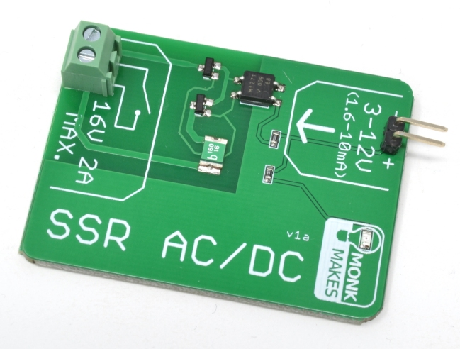 A product image for MonkMakes SSR Board
