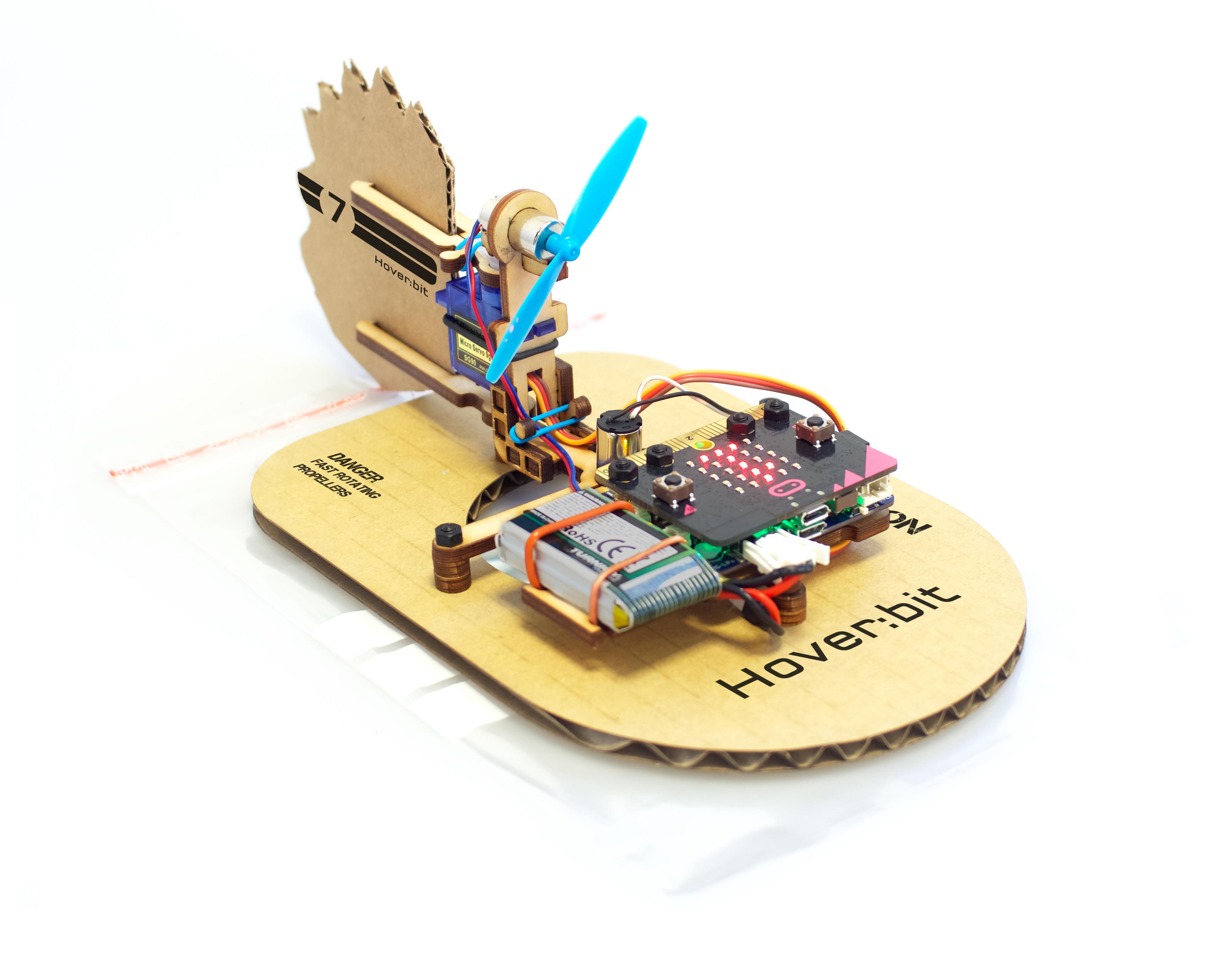 micro:bit hovercraft