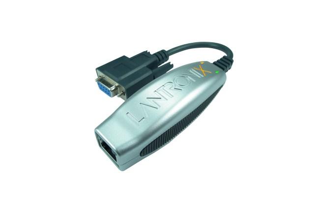 A product image for Port unique RS232 10/100 serveur de périphérique