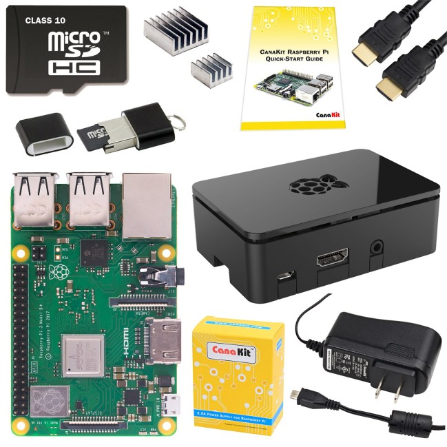 A product image for KIT PROFESSIONNEL STARTER RPI 3 B + – 32 GO