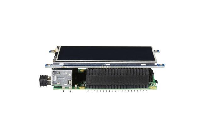 A product image for Écran tactile PiTFT Plus 3.5 Raspberry Pi