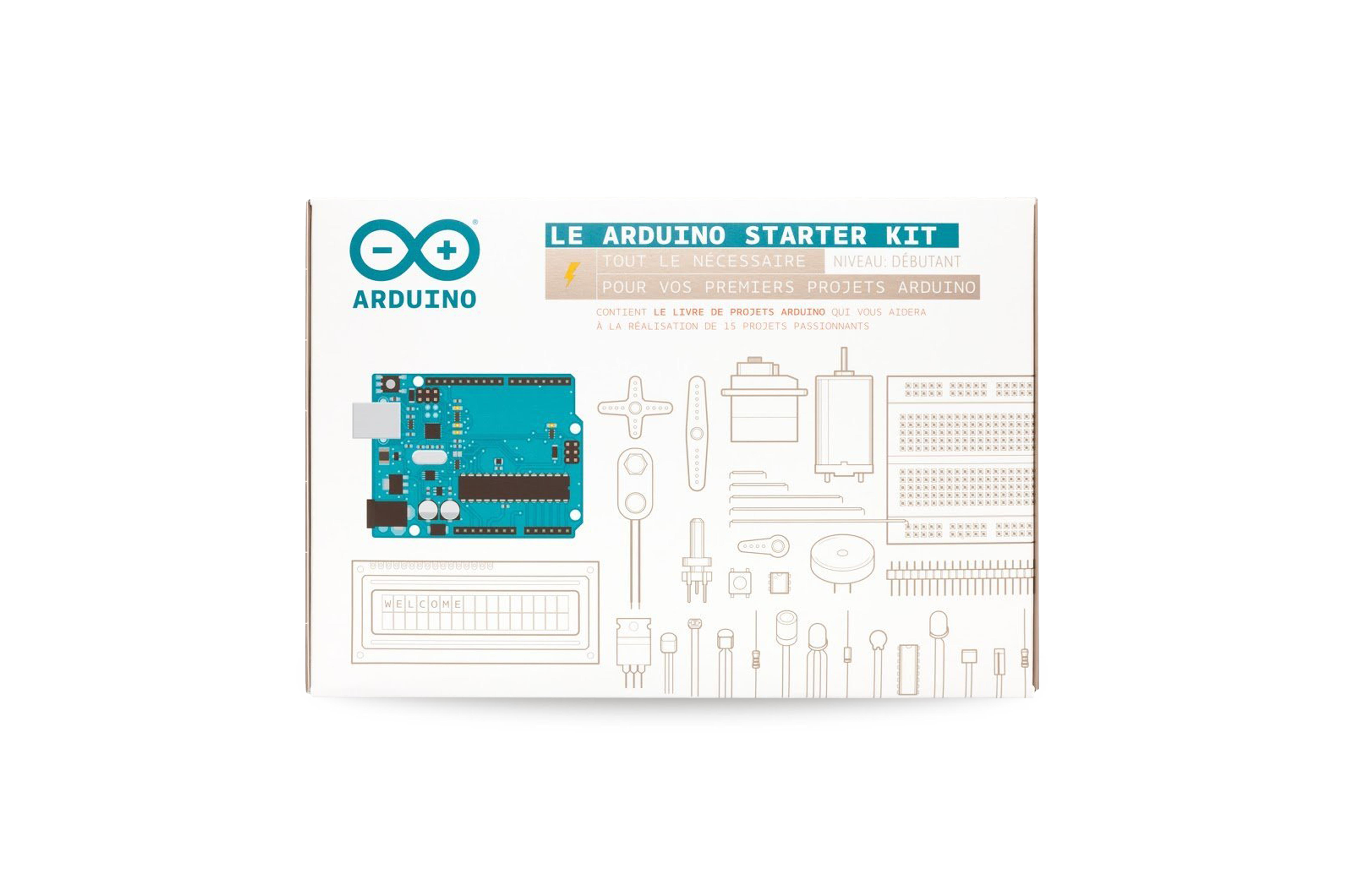 Kit de démarrage Arduino pour la France