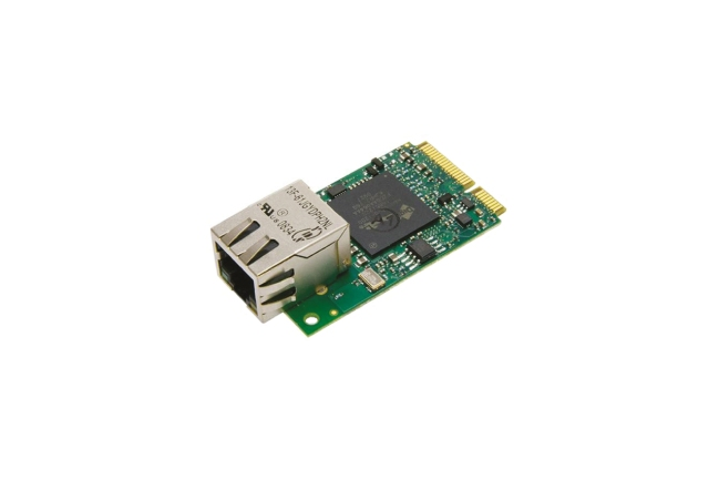 A product image for Rabbit MiniCore 1 Mo Flash + RJ45 RCM6710
