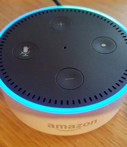 Control a JustBoom with Alexa
