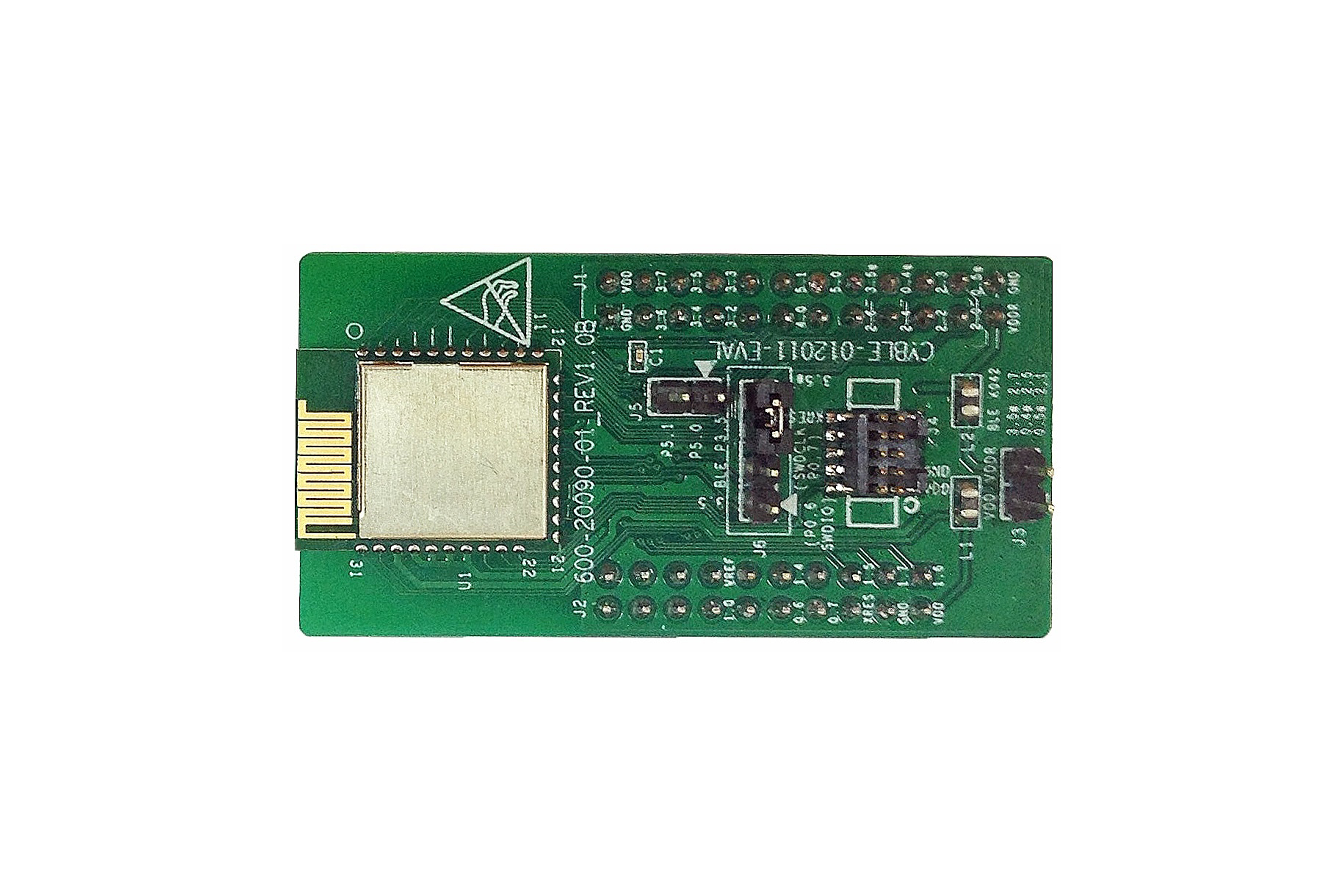 Module radio PRoC EZ-BLE, antenne PCB