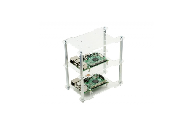 A product image for BOÎTIER RASPBERRY PI EMPILABLE MULTI-PI