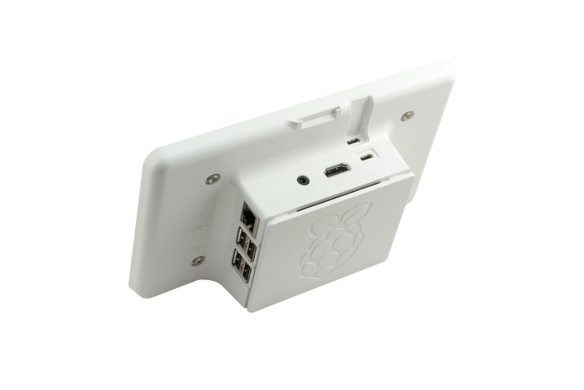 A product image for Boîtier tactile pour Raspberry Pi – Blanc