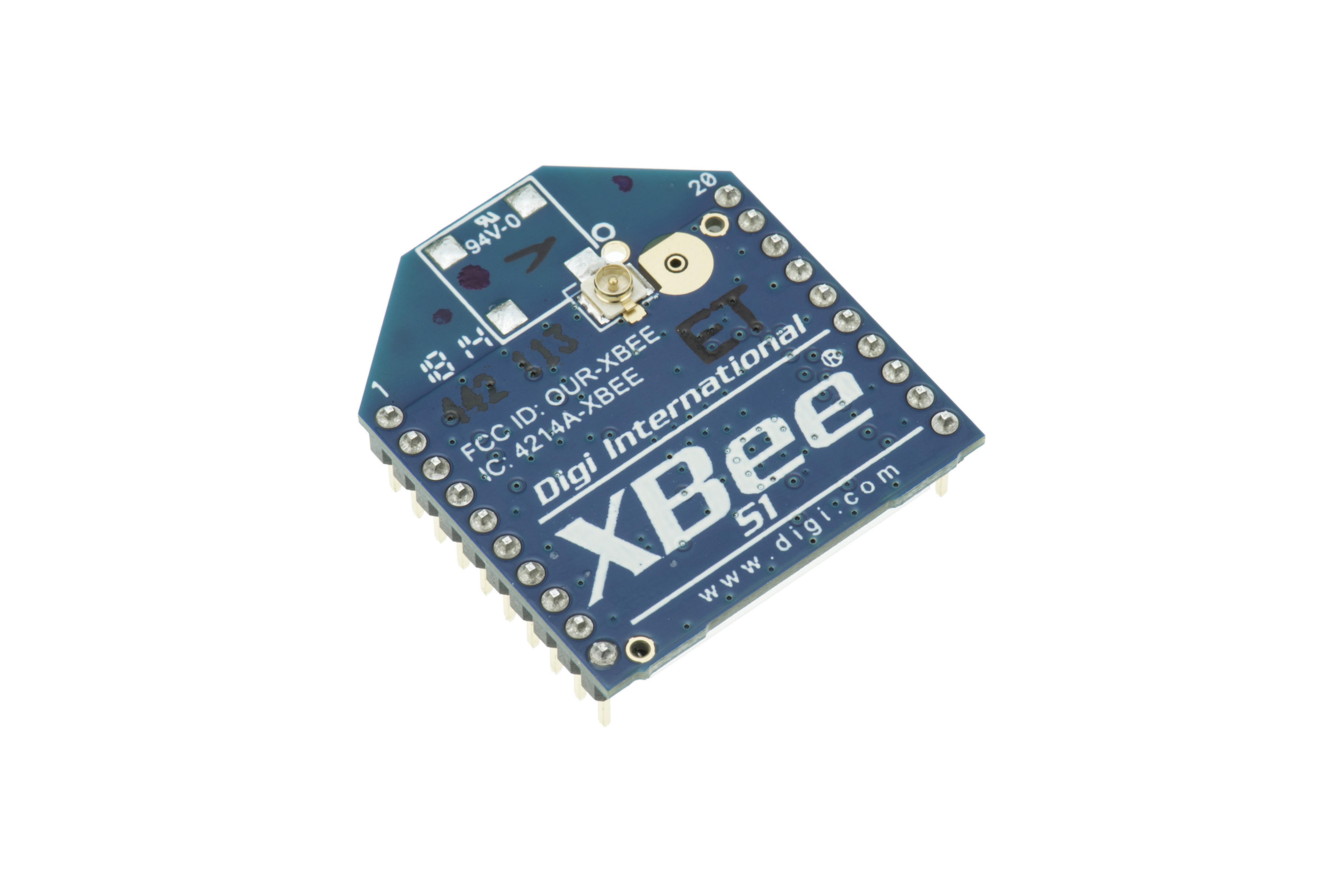 Module RF XBee avec connecteur U.FL 1mW