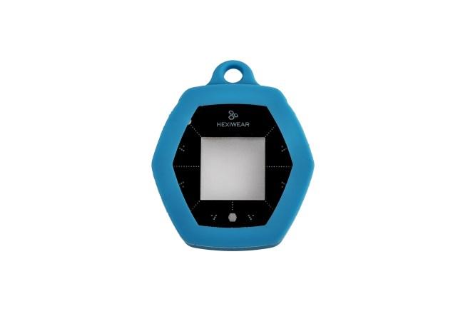 A product image for PACK D'ACCESSOIRES KIT DE DÉV. HEXIWEAR BLEU