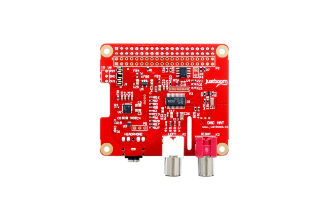 A product image for HATDACJustBoom pour Raspberry Pi