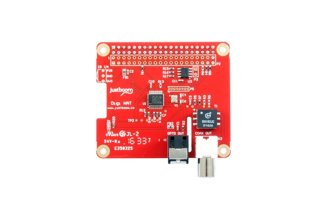 A product image for HAT Digi JustBoom pour Raspberry Pi