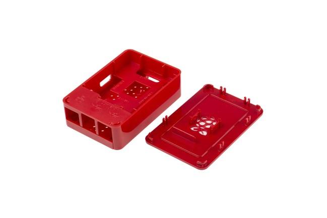 A product image for Boîtier pour Raspberry Pi 3, rouge
