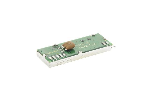 A product image for RécepteurNBFM, 20kb/s 434.225 MHz 1000 m