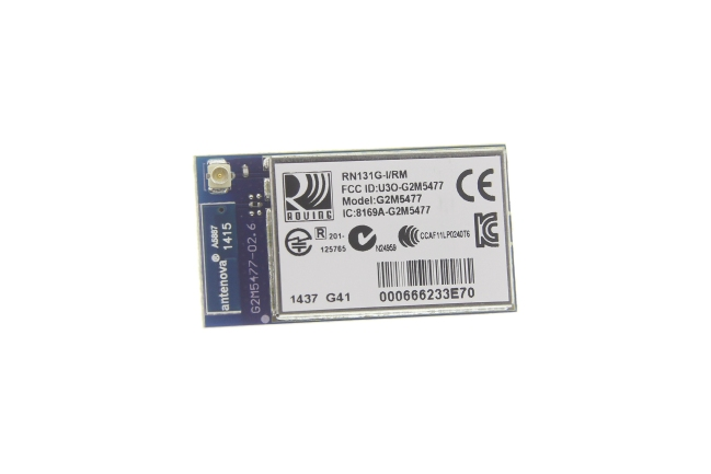 A product image for Module Wi-Fi 802.11 b/g SMD avec U.FL