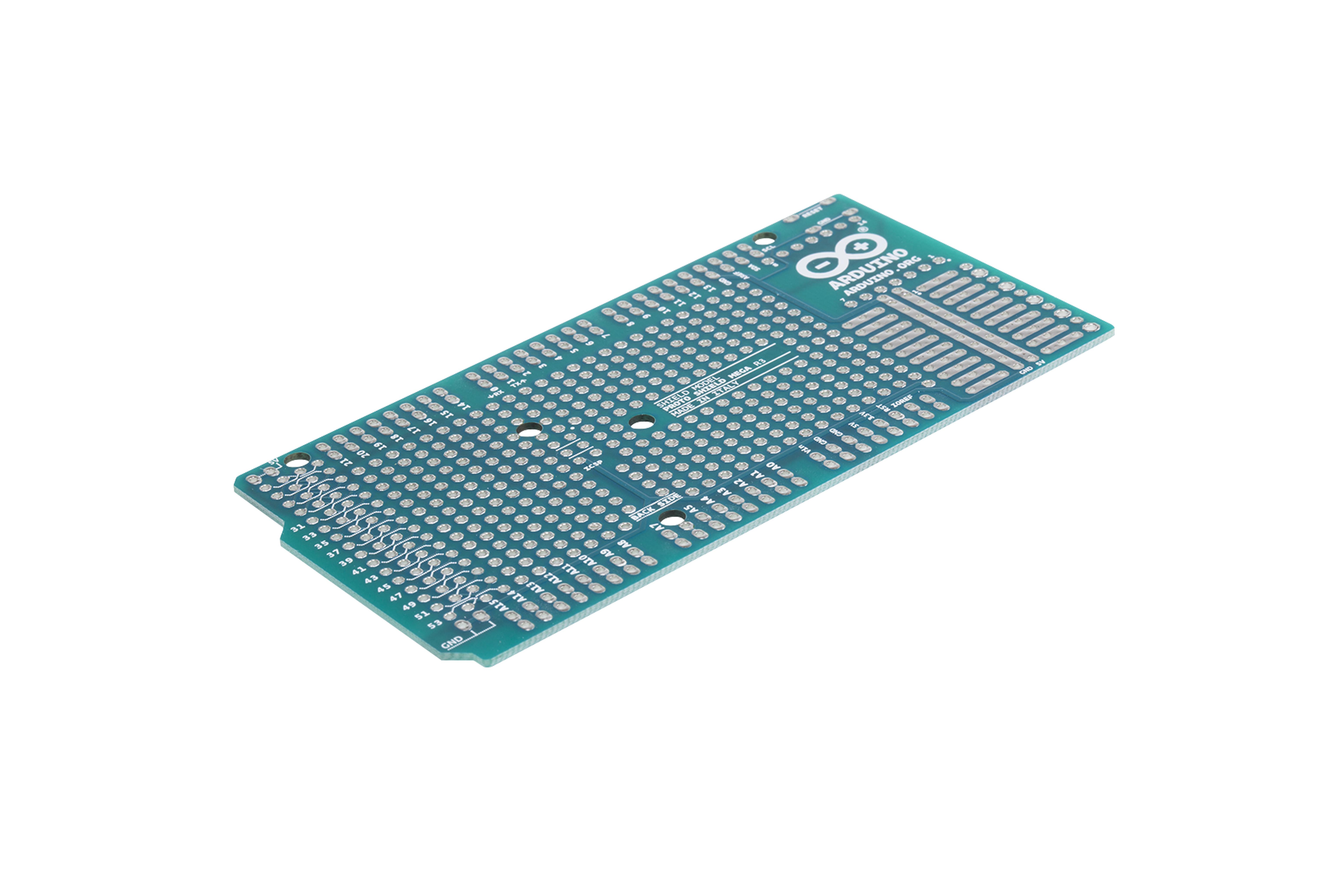 Extension Proto shield Arduino MEGA Rev3