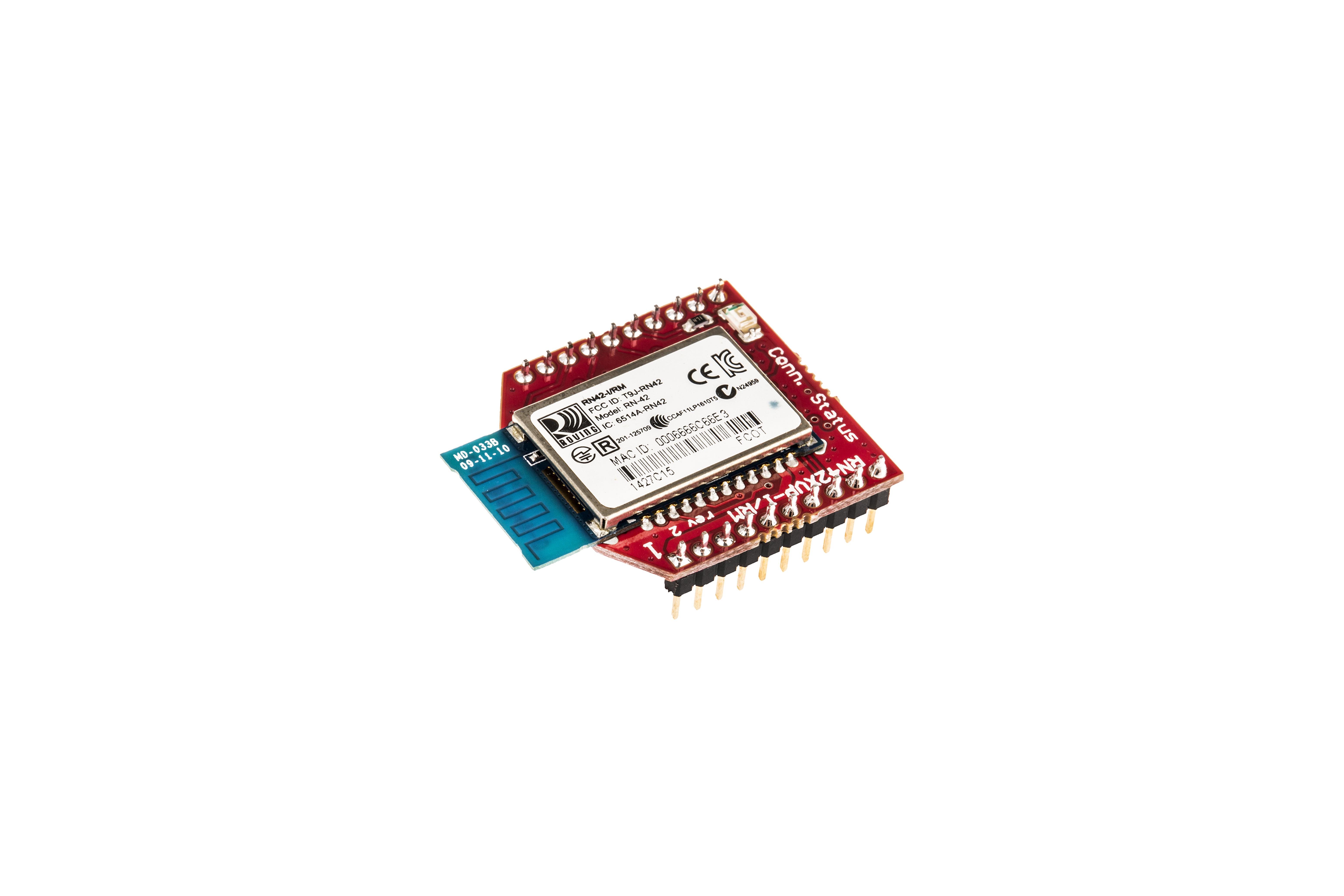 Antenne module socket pour circ. imp.Bluetooth RN42