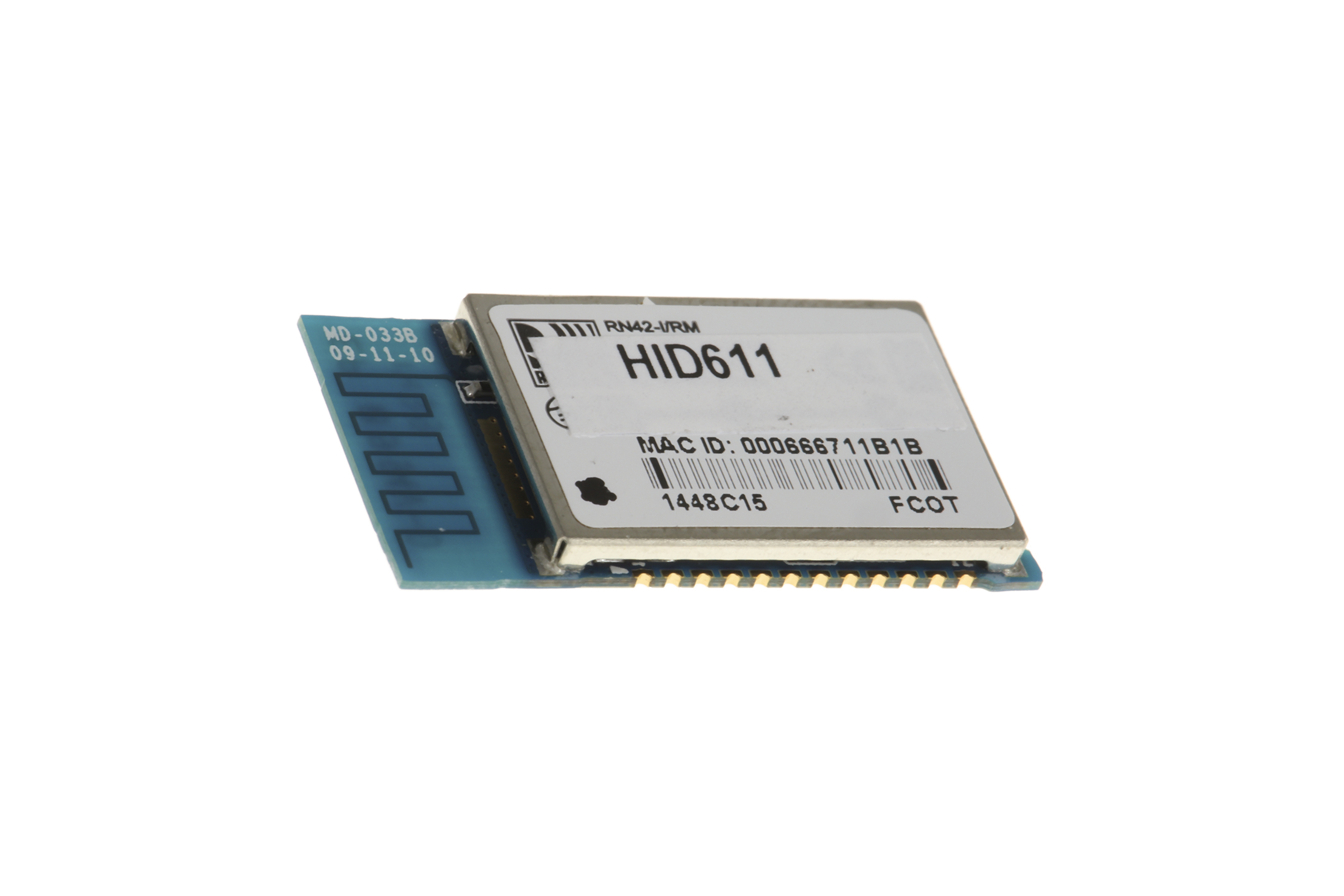 Module Bluetooth classe 2, v2.1, 4 dBm