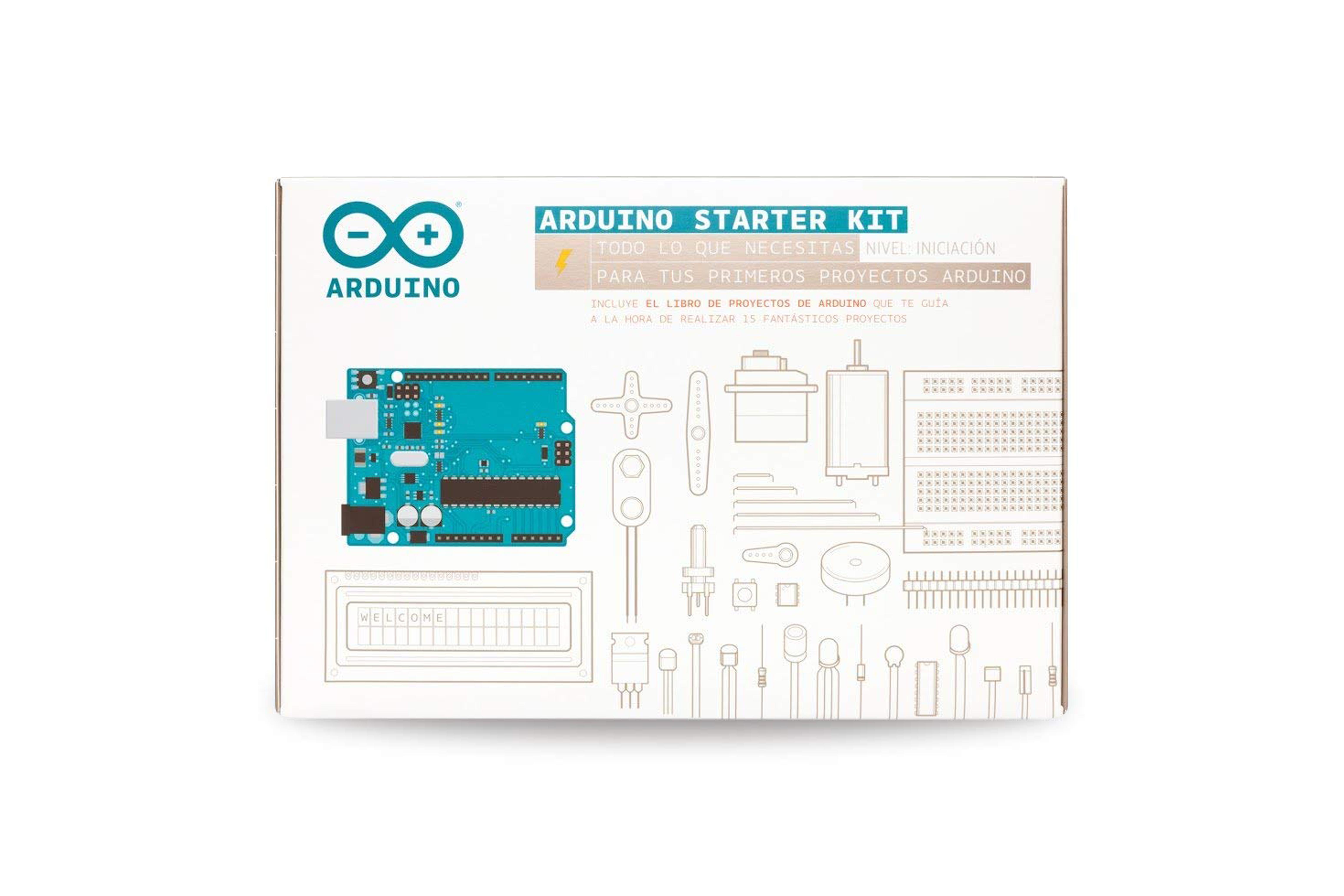 Kit de démarrage Arduino pour l'Espagne