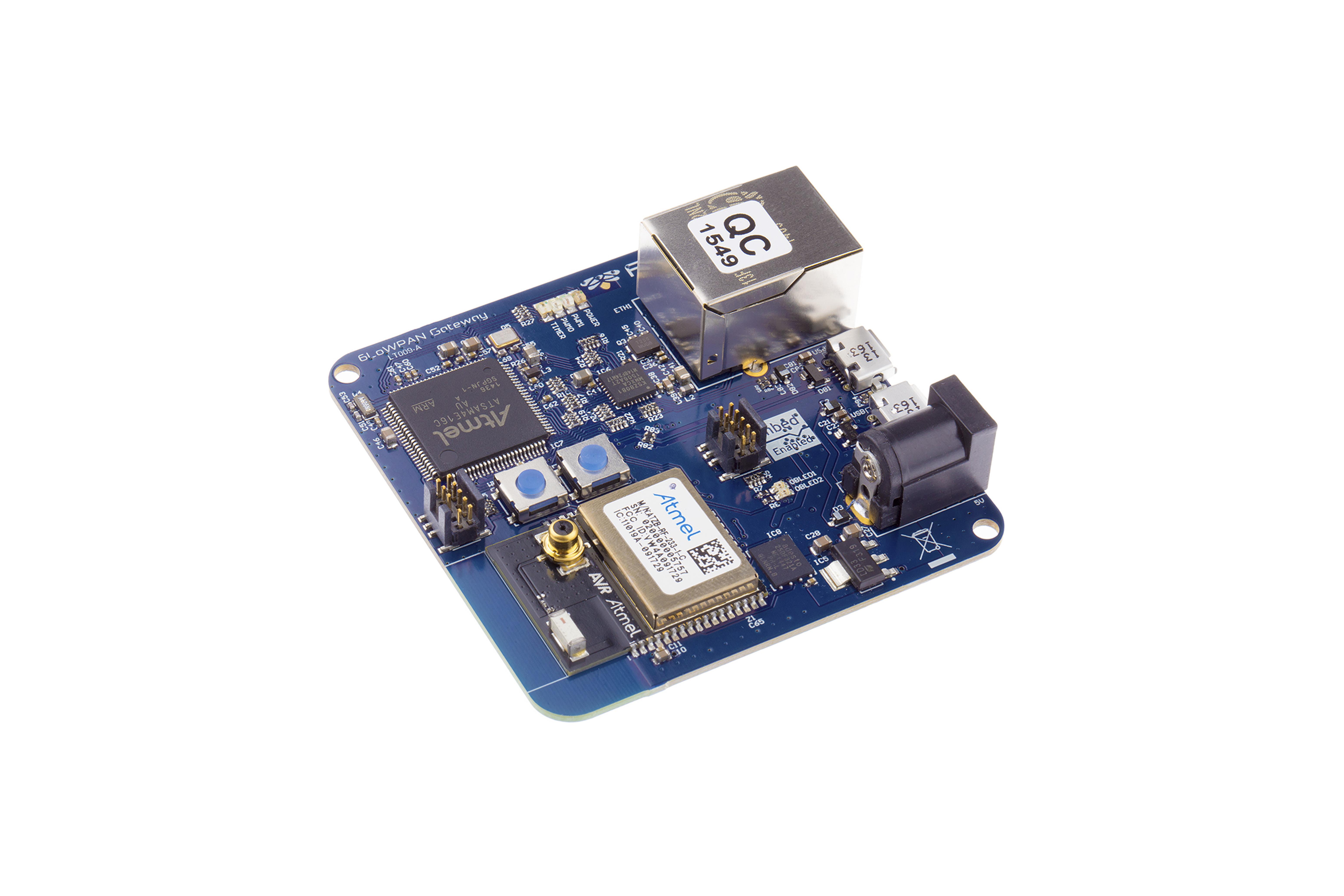Module PCB de routeur de passerelle 6LowPAN 2,4 GHz