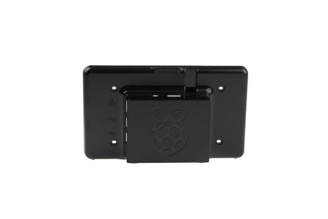 A product image for Étui pour écran tactile de Raspberry Pi – Noir