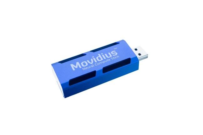 A product image for Stick de calcul Movidius pour réseau neuronal