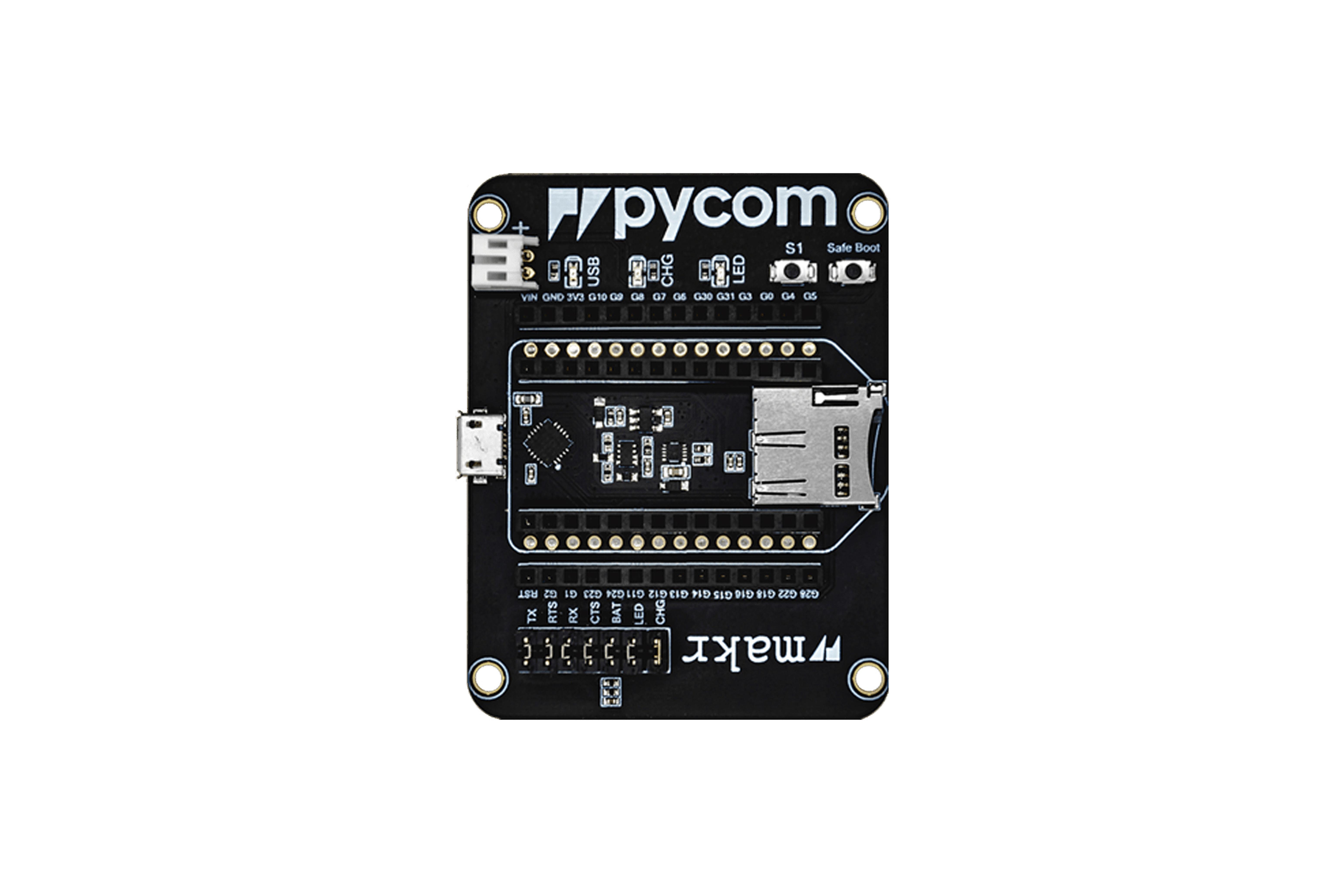 Carte d'extension v2 Pycom Universal