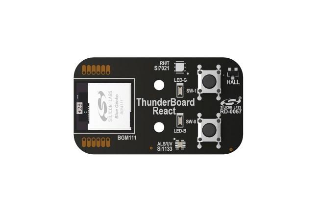 A product image for Carte connectée au CloudThunderBoard-React