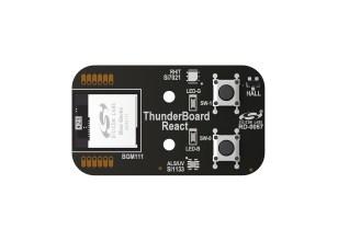 Carte connectée au CloudThunderBoard-React