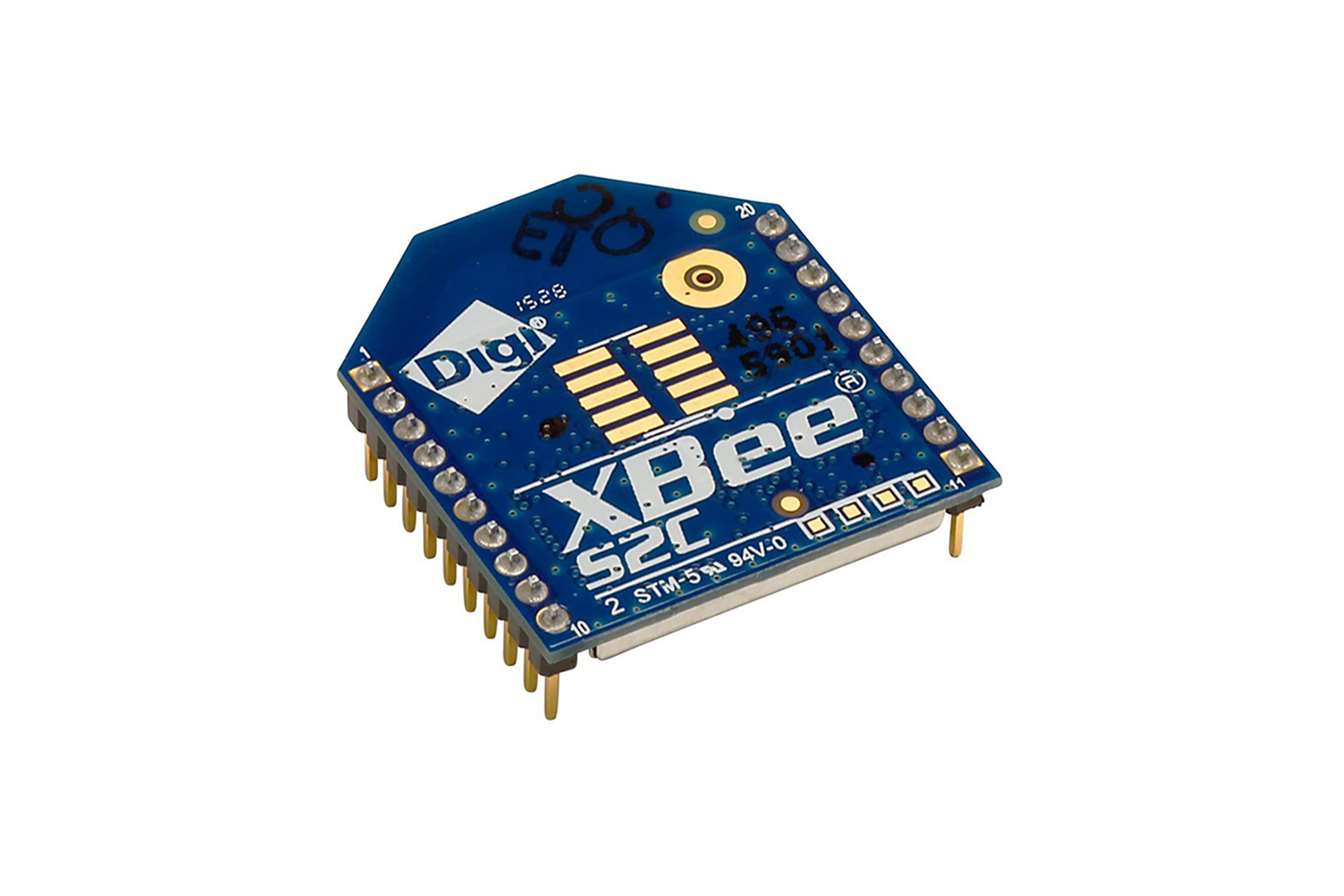 Module RFXBee ZigBee, Antenne PCB (TH)