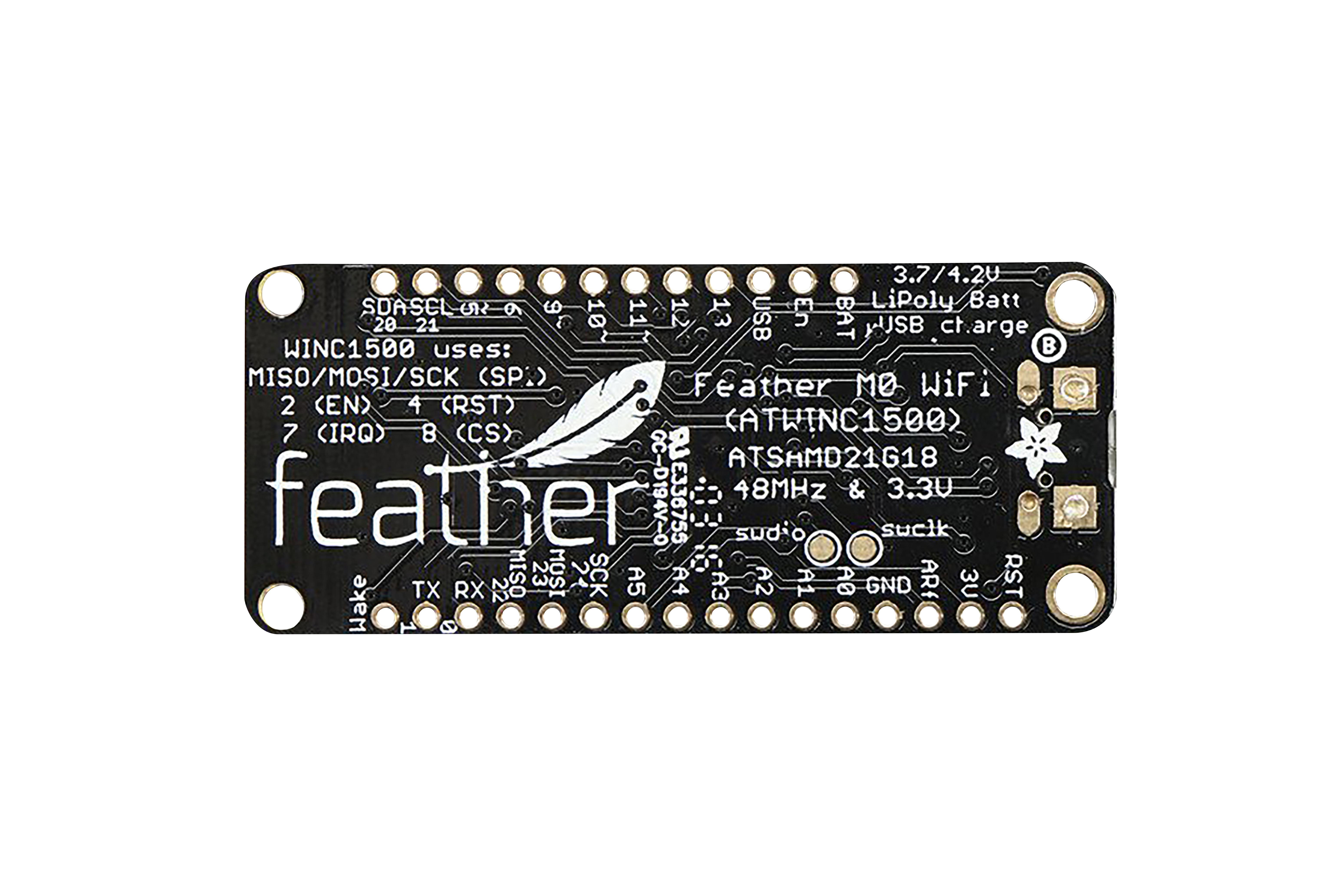 Carte de développement WiFi Adafruit Feather M0