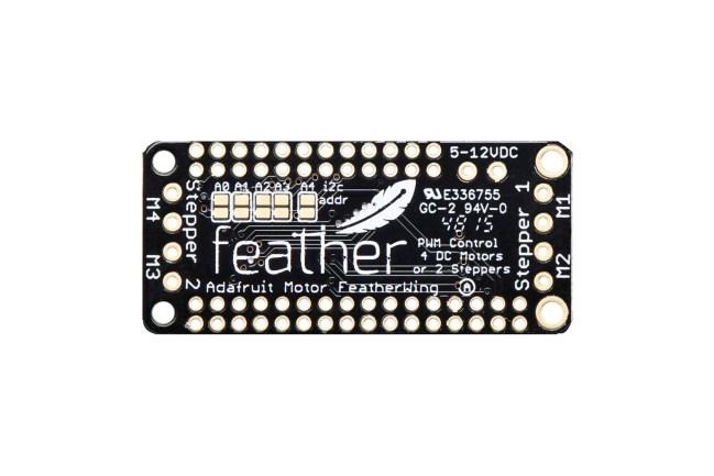A product image for Carte d'ajout moteur FeatherWingCC/Pas à pas